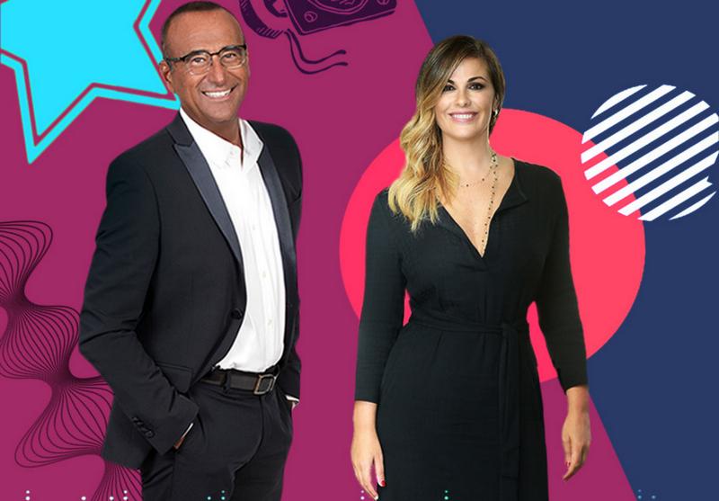 Music Awards 2020 Carlo Conti e Vanessa Incontrada