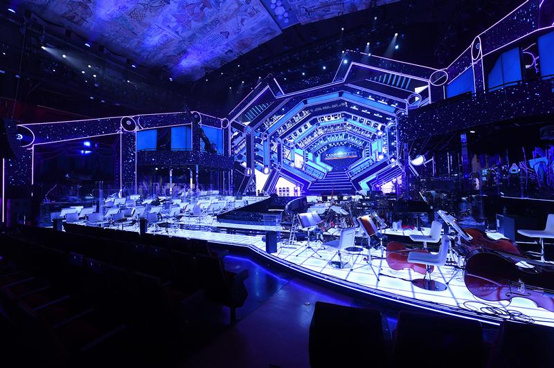 Sanremo 2021 scenografia
